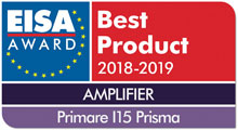 EISA Award Best Product Amplifier Primare I15 Prisma